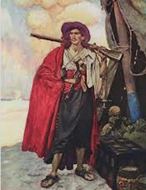 A 'privateer' is a person or ship authorized by a government to attack foreign shipping during wartime.