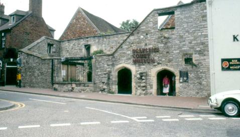 Scaplens court before restoration