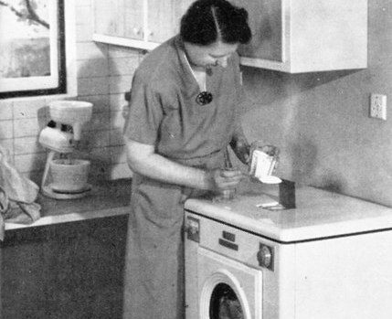 'Let the automatic washer take over the weekly wash'
