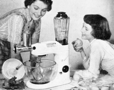 'Your servant, ma'am' - the Kenwood Chef
